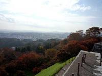 東櫓台からの眺望