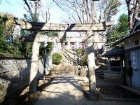 田端八幡神社 二の鳥居