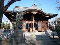 田端八幡神社 拝殿