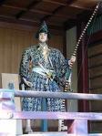諏方神社 源為朝の山車人形