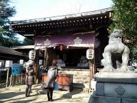 諏方神社 拝殿
