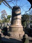 川上音次郎 銅像台座