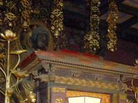 釈迦三尊坐像