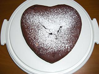 2010 2/14 バレンタイン ガトーショコラ