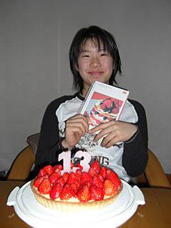2010 2/18 笑の誕生日