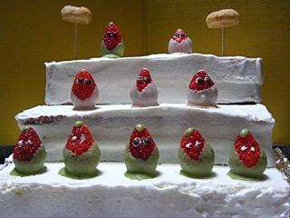 2010 3/3 ひな祭りケーキ