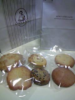 ステラおばさんのクッキー1