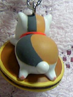 ニャンコ先生ストラップ和菓子「どら焼き」5
