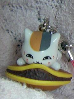 ニャンコ先生ストラップ和菓子「どら焼き」6