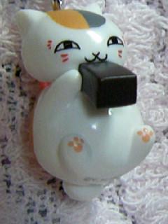 ニャンコ先生ストラップ和菓子「ようかん」3