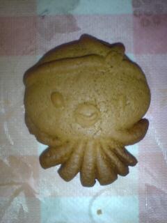 たこクッキー