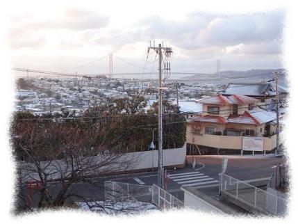 2013年1月28日初積雪