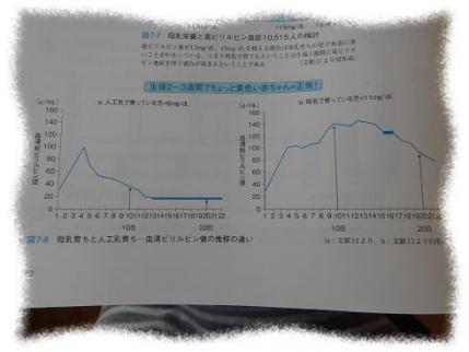 2013年2月6日血清ビリルビン値母乳とミルクの違い