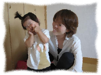 2013年8月Yさん親子