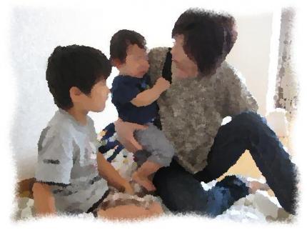 2013年9月28日Mさん親子は断乳2回目