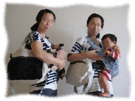 2013年9月27日仲良し双子ママ