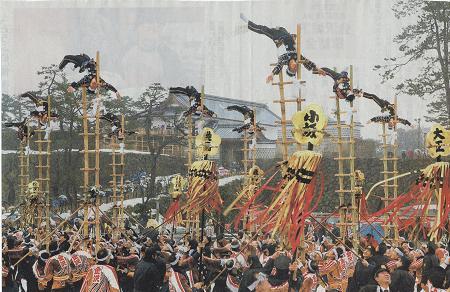 歴史と伝統の出初式