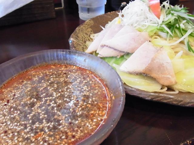110313_冷菜麺屋 蓮_広島風つけ麺(中特)_900円