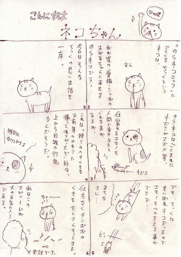 こんにちはネコちゃん