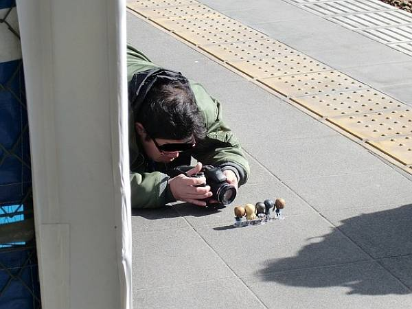 ねんどろいど撮影カメラマン