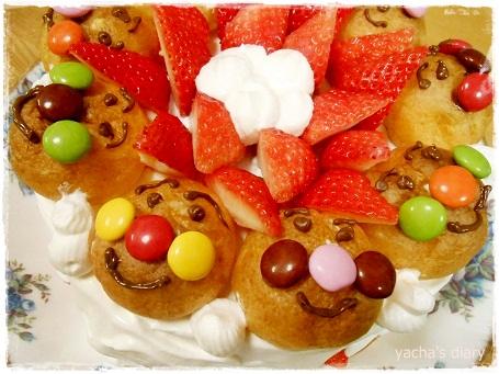 20130125あんぱんまんケーキ