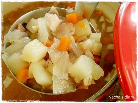 20130315雑穀スープ