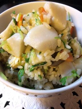 里芋のほくほくご飯