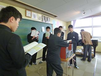 卒業の歌練1