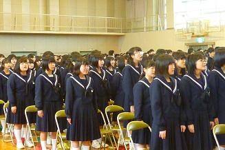 全校歌練習3