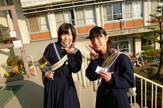 卒業式前日 朝2