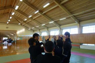 柔道部 お別れ儀式2