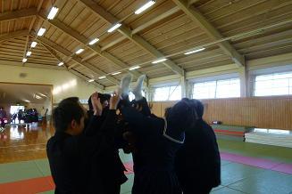 柔道部 お別れ儀式3