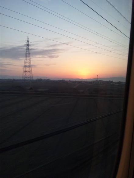 (120208) ボーマス当日、日の出