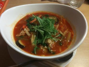 トマト麺 Vegie