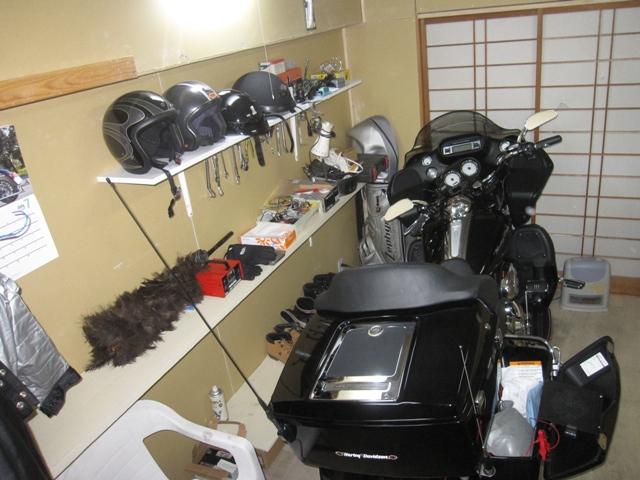 ガレージ掃除4