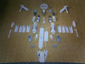 4 2号艦完成前分解写真