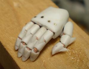 指関節突起製作2