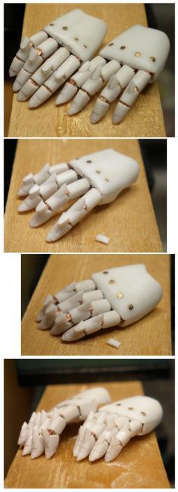 指関節突起製作1