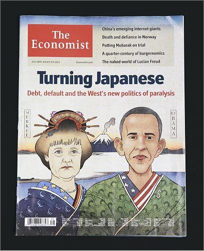 欧米の「日本化」を特集するエコノミスト誌最新号