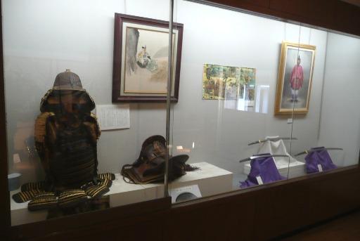 武器・武具の展示