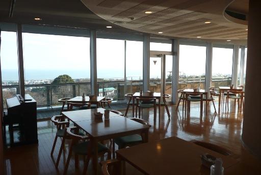 展望カフェからの眺望