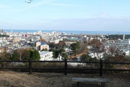 養正館跡からの眺望