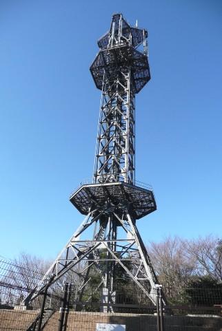 NTTの無線中継所