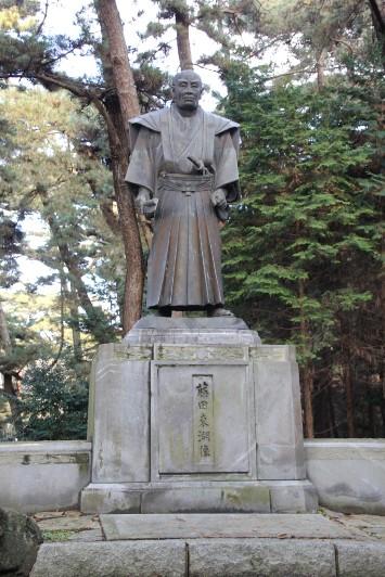 藤田東湖の銅像