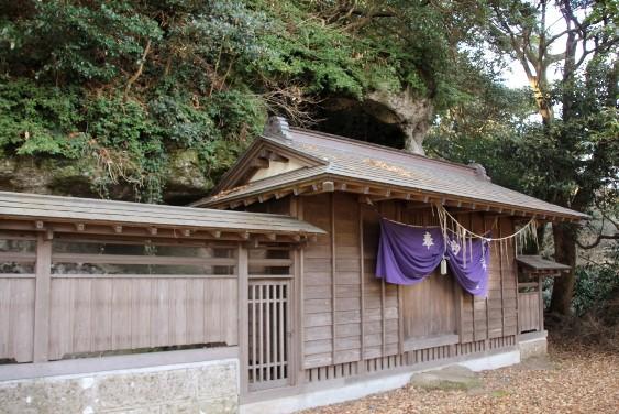 釜上神社拝殿