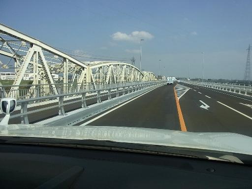 旧水府橋と新水府橋
