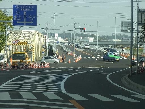 新水府橋へ