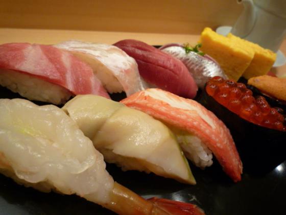 初めて成果を出した日に豪華な寿司で自分にご褒美(笑)