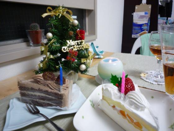 ケーキを食べる前に・・・