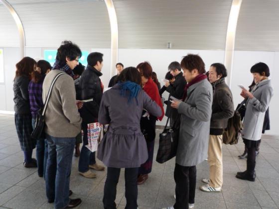 JR大塚駅前に10時に集合!